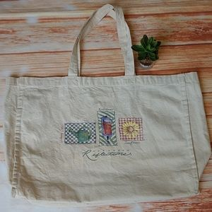 """Vintage Northern Reflections canvas bag. 22x14"""""""